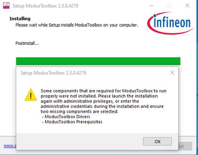Modus Install Error.PNG